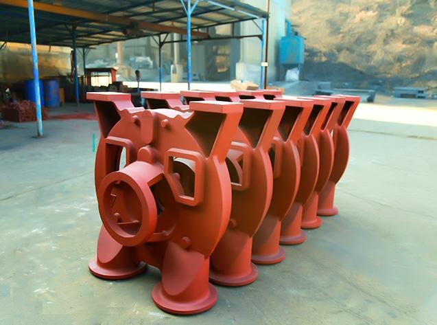泵盖精品铸件