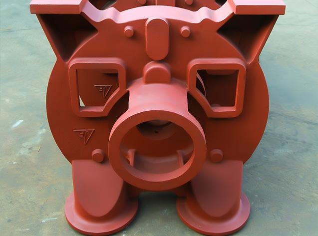 泵盖铸件加工