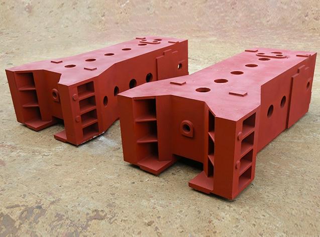 立柱机床铸造